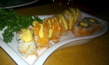 sushiking roll en restaurante