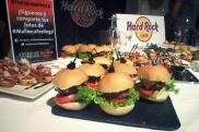 Mini hamburguesas Hard Rock Café en Casino de Mallorca